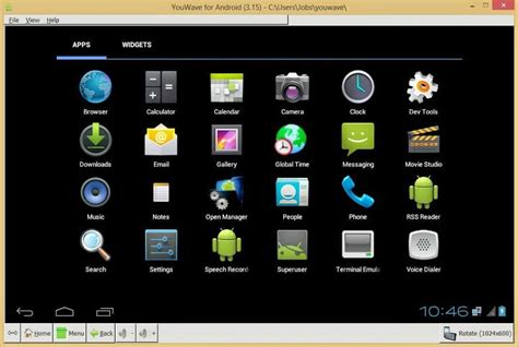 youwave android emulator best android emulator for pc mac top 3