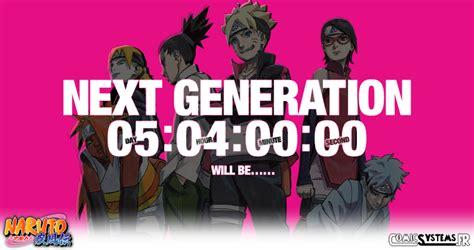 boruto le film le nouveau visuel s affiche dans les boruto de retour avec next generation naruto actualit 233