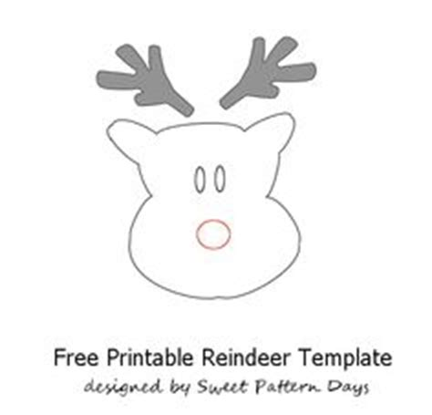 small printable reindeer christmas printables on pinterest writing papers