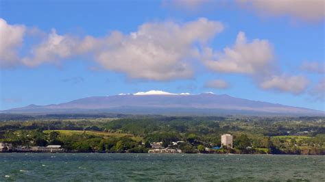 mauna kia photo update snow in hawai i big island now