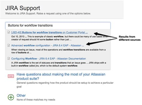 jira service desk knowledge base list of service desk customizations from atlassian support