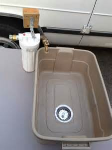 My Kitchen Sink Won T Drain by Diy Of The Day Awesome Amp Inexpensive Camping Sink Lpc