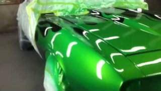 play show status customs lowrider undertakers roof custom paint water drops silver leaf