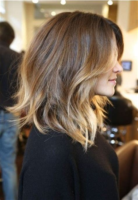 how to do medium length ombre hair latest shoulder length hairstyles for women 2014 pretty