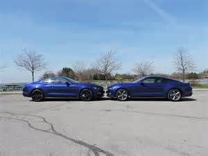 2015 ford mustang v6 vs ford mustang ecoboost autoguide