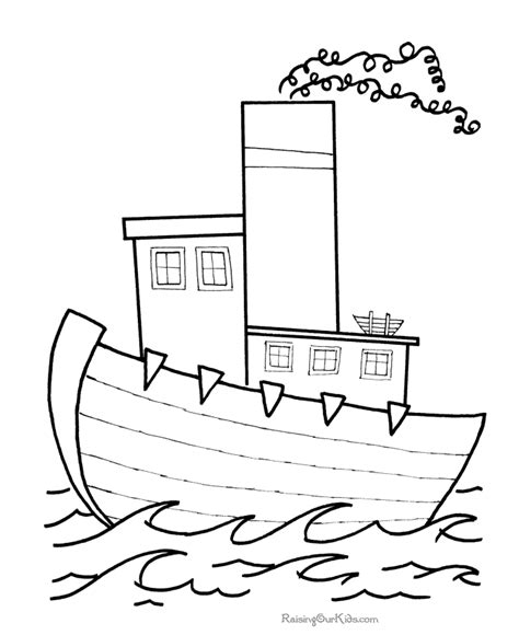 printable coloring pages boats simple boat coloring pages coloring pages