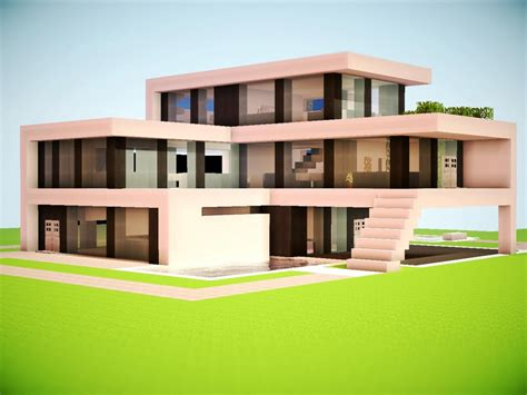 modern house minecraft modern minecraft mansion minecraft modern house modern