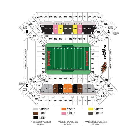 ta buccaneers stadium seating ta bay buccaneers stadium club members