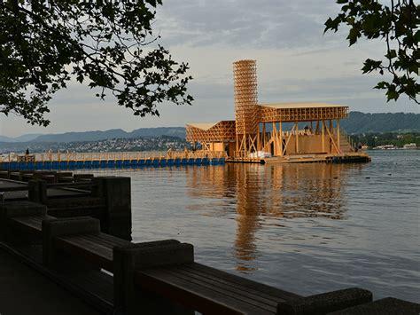 Pavillon Of Reflections by Der Manifesta Pavillon Liegt Vor Anker Eth Z 252 Rich