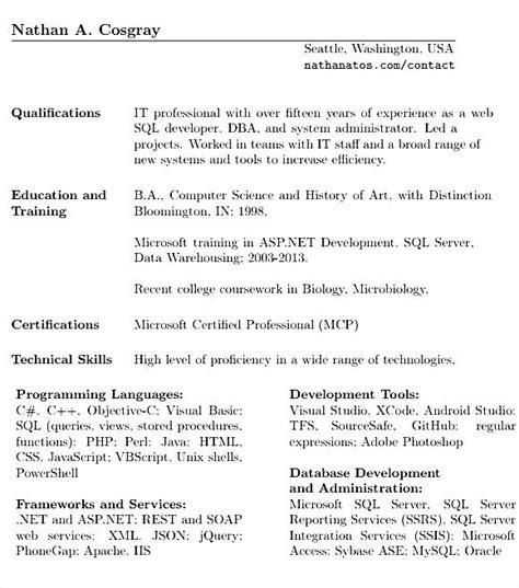 oracle dba resume format free sles exles format resume curruculum vitae free