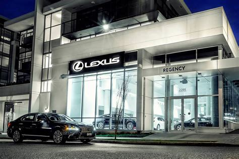 lexus dealership regency lexus in vancouver bc