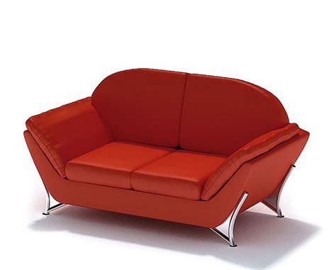 modern red sofa modern red sofa 3d model cgtrader com