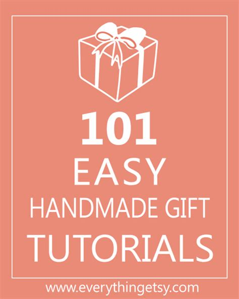 Easy Handmade Gifts - diy gifts for