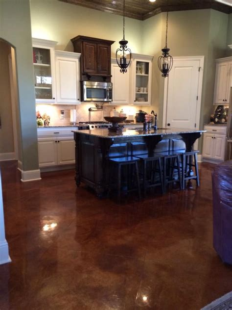 Concrete Kitchen Floor 17 Best Images About Flooring On Acid Stain Tile And Ceramics