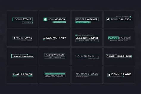 15 Best Premiere Pro Lower Thirds Templates Design Shack Premiere Pro Lower Thirds Templates