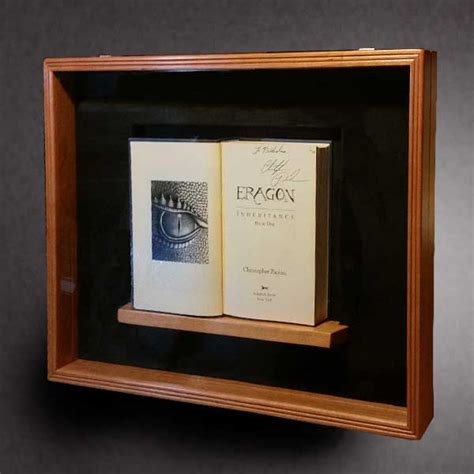 books for display 18x24 shadow box by greg seitz woodworking