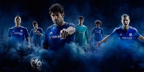 Jersey Chelsea Home 20152016 three stripes everywhere an overview of the 2015 2016
