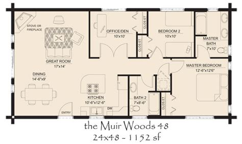Log Cabin Open Floor Plans by Log Cabins Floor Plans And Pictures Hickory Spring Log