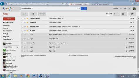 email gmail masuk inspirasi indonesia cara setting konfigurasi filter email