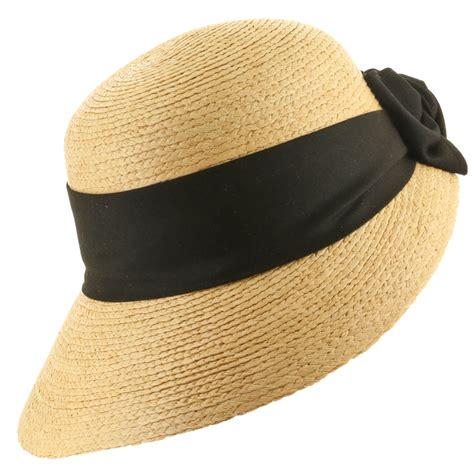 golf visor scoop panama straw hat womens