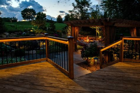 Patio Deck Lighting Ideas Led Patio Lighting Ideas With And Outdoor Also Lights Inspirations Rope Backyard Deck Savwi