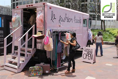 Truck Accessories Store Los Angeles Pop Up Stores Le Fashion Truck Los Angeles California