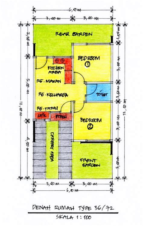 desain dan denah rumah minimalis type 90 rumah top
