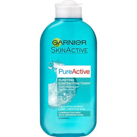 Toner Garnier Active garnier skinactive pureactive purifying contracting