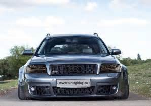 audi rs6 c5 avant wide by c7 with headlights tuning