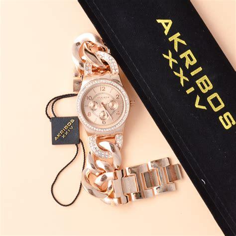 Ready Stock Cincin Gold Xuping 1 akribos ak558rg gold tone averand