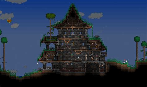 Home Design Image Ideas Terraria Village Ideas House Layout Terraria