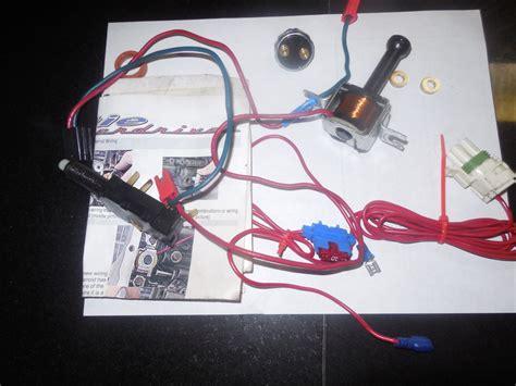 tcc solenoid transmission 4th gear pressure switch kit