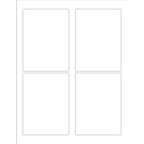 avery template 22807 avery durable print to the edge rectangular labels 4 per