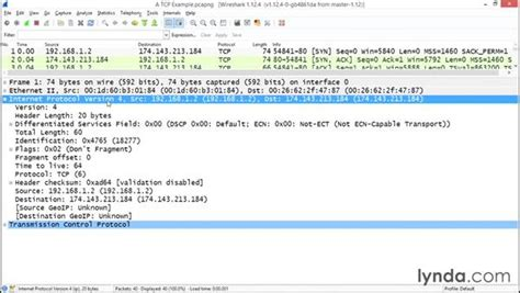 wireshark tutorial lynda exploring ipv4