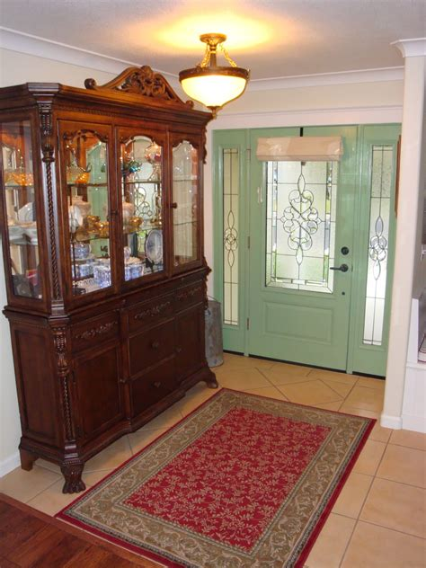 Vintage Foyer by Vintage Entryway Hutch Stabbedinback Foyer Take