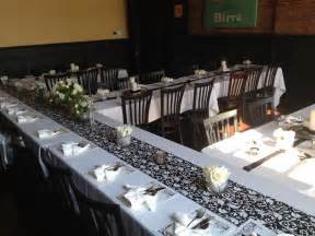 Decorating Ideas For Rehearsal Dinner Tables