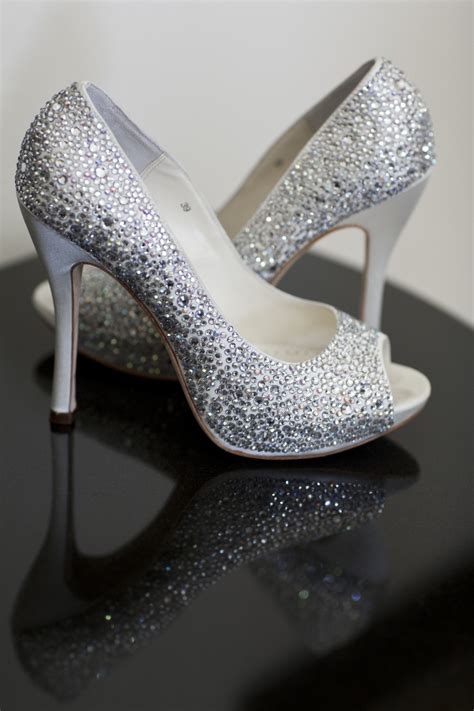 Wedding Shoes Embellished by Embellished Glam Bridal Shoes