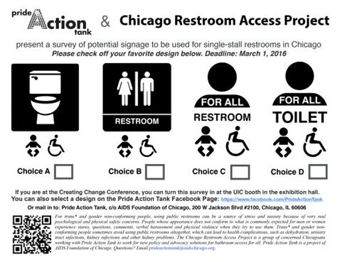 gay bathroom signals chicago restroom access project seeks input on designs