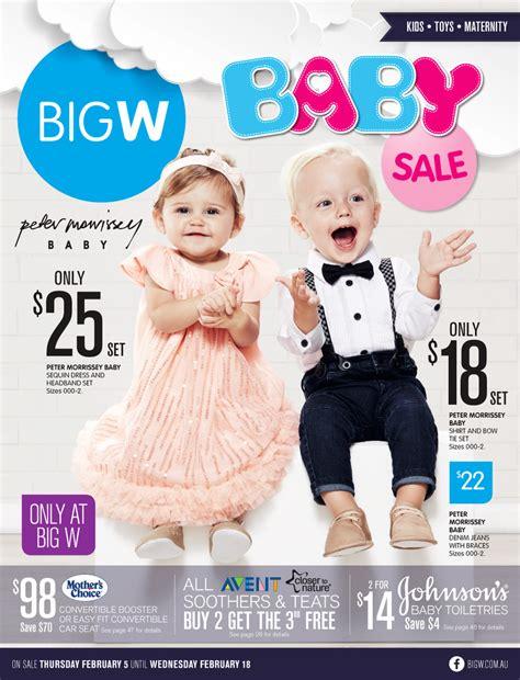 big w baby catalogue february 2015 baby clothing