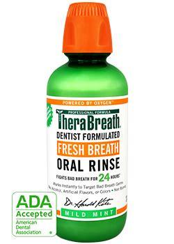 bad breath rinse therabreath