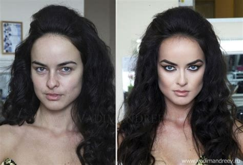 amazing before and after haircuts amazing before and after makeup photos by vadim andreev