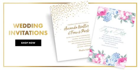 Wedding Invitation Banner Card by Custom Wedding Invitations Banners City