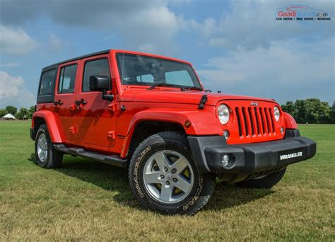 The Wrangler jeep wrangler launched in india at rs 71 59 lakh