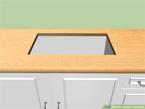 Kompor Listrik Set Oven 3 ways to install a cooktop wikihow