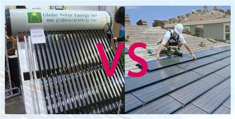 Water Heater Dengan Ac perbedaan panel surya dengan solar water heater