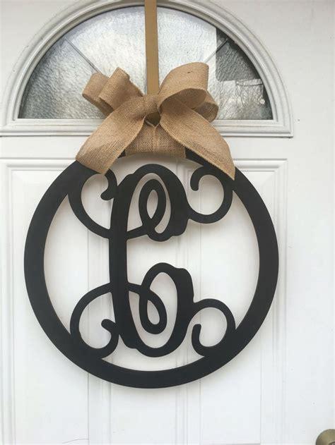 Initial Door Hangers by Best 25 Monogram Door Hangers Ideas On Door