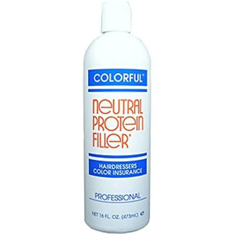 protein color filler colorful neutral protein filler hairdressers color