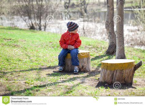 Jaket Baby 13 baby boy in orange jaket and blue stock photo image 69976066