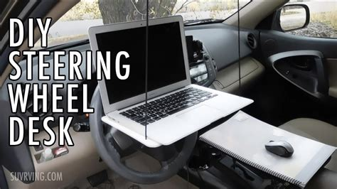Laptop Steering Wheel Desk Diy Steering Wheel Desk Or Laptop Stand