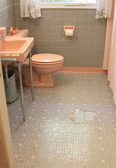 Gray Bathroom Floor Tile Can We Help Earthakitsch Find Tile To Fill In The Gap In